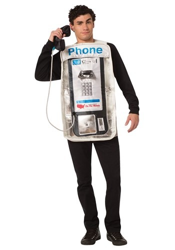 The Adult Pay Phone Costume update