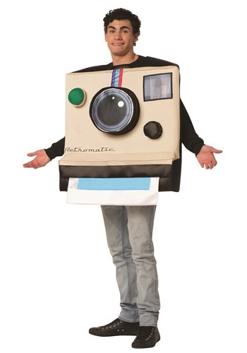 The Adult Instant Camera Costume