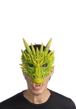 Green Dragon Half Mask