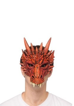 Red Dragon Half Mask