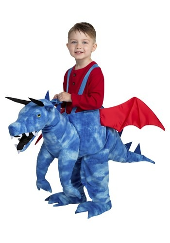 Kids Ride in Dashing Dragon Costume