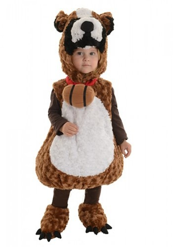 Toddler St Bernard Bubble Costume