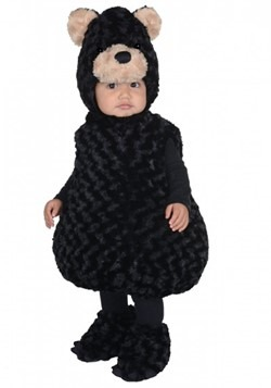 Toddler Black Bear Bubble Costume