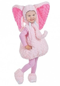Toddler Pink Elephant Bubble Costume