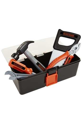 Black & Decker Dressup Playset w/ Toolbox