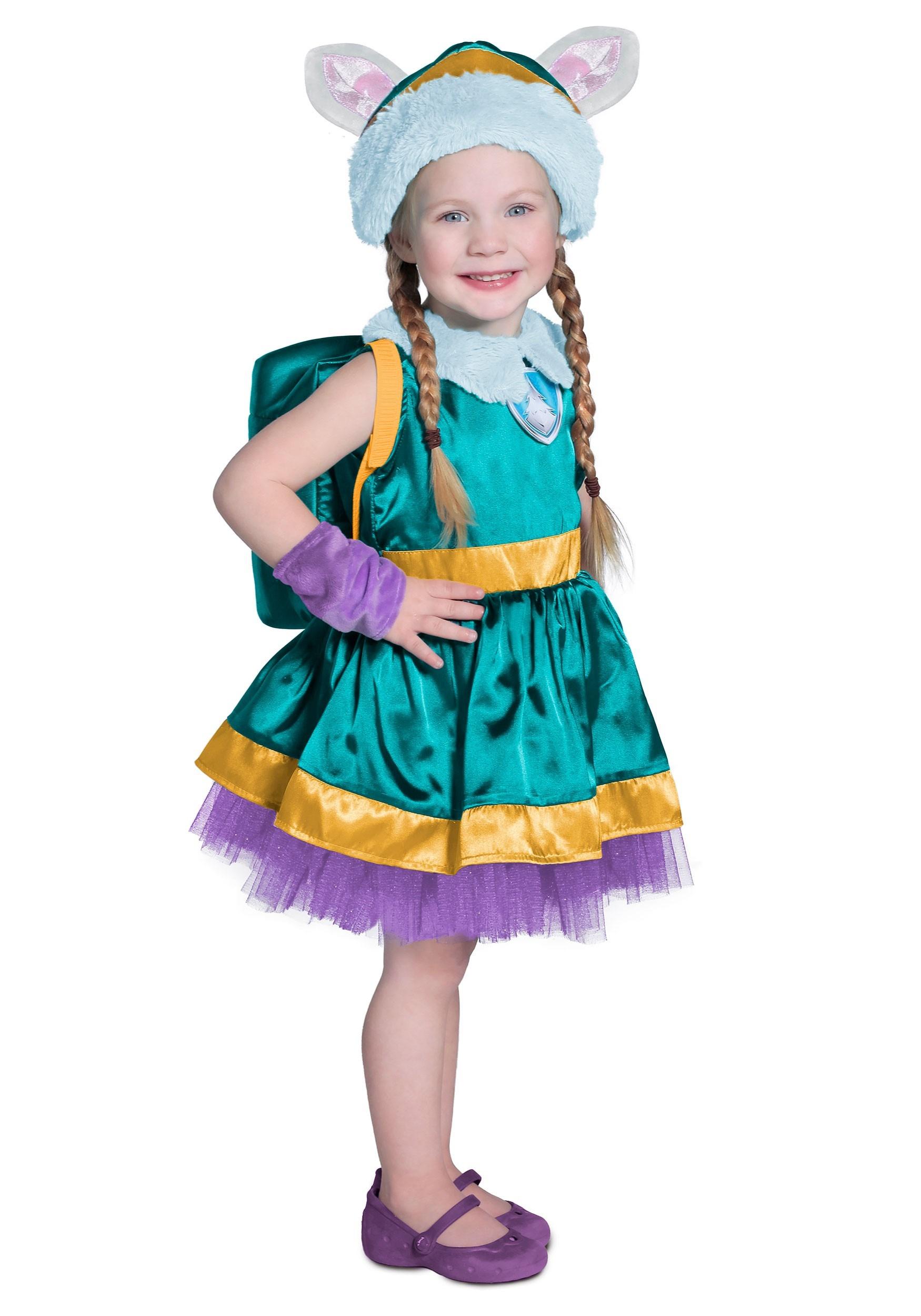 Brand New Paw Patrol Everest Girls Toddler Costume