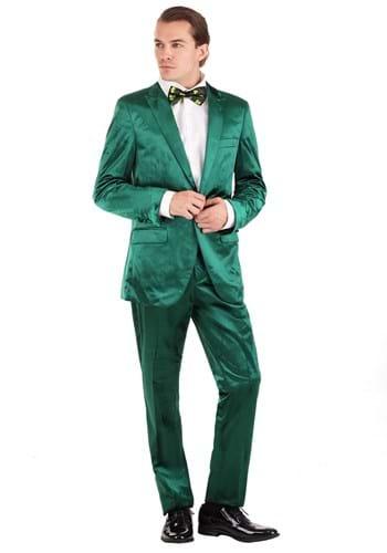 Mens Green Leprechaun Suit Costume