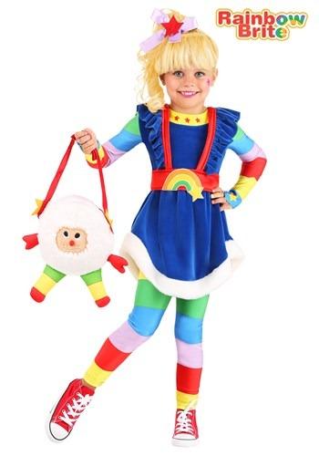 Toddler Rainbow Brite Costume