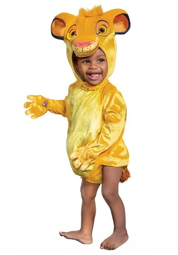 The Lion King Infant Simba Costume