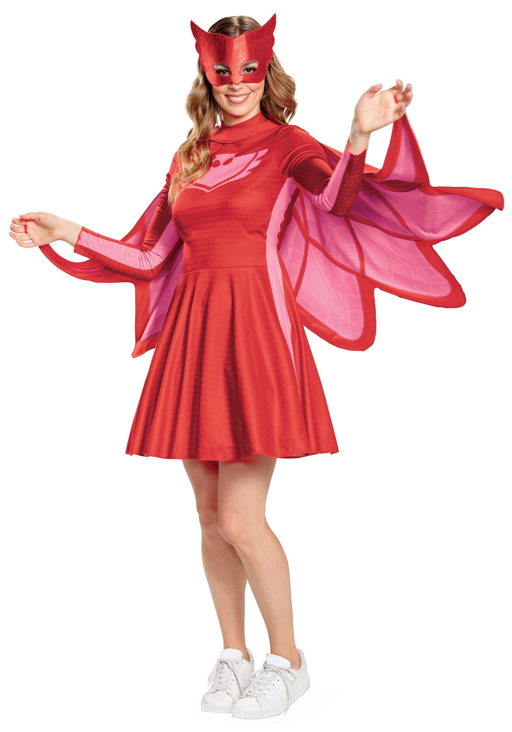 Pj Masks Owlette Classic Costume For Women
