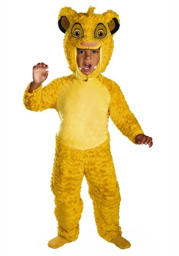Lion King Toddler Simba Deluxe Costume