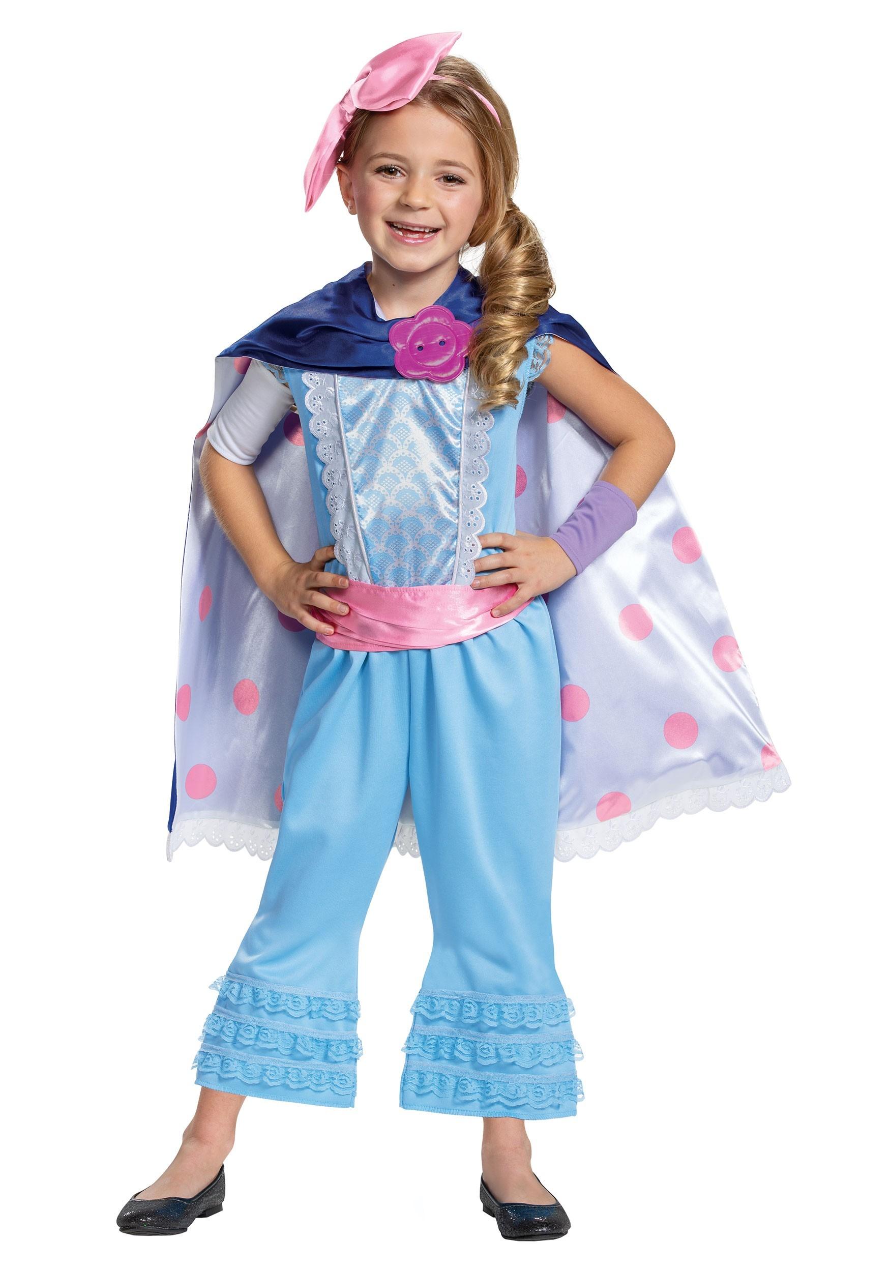 Toy Story 4 Halloween Costumes.Disney Toy Story Girls Bo Peep Deluxe Costume