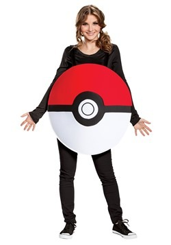 Pokemon Adult Pokeball Classic Costume