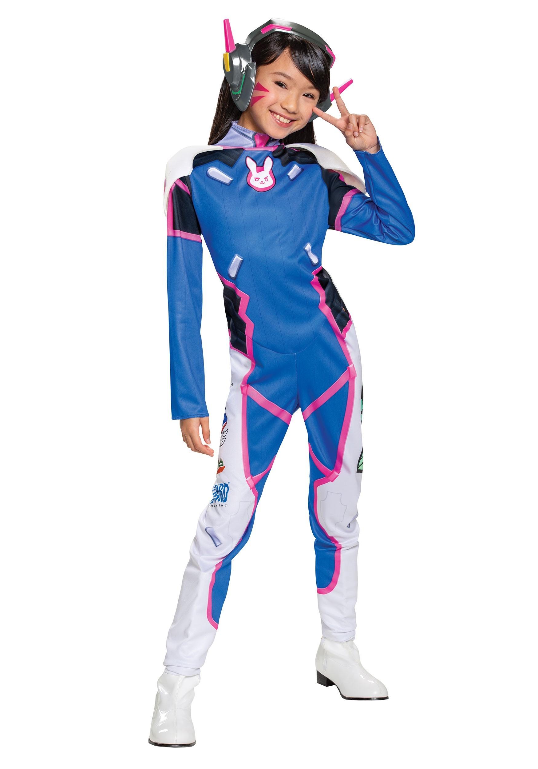 Halloween Costumes 2020 Overwatch Girls Overwatch D.Va Deluxe Costume