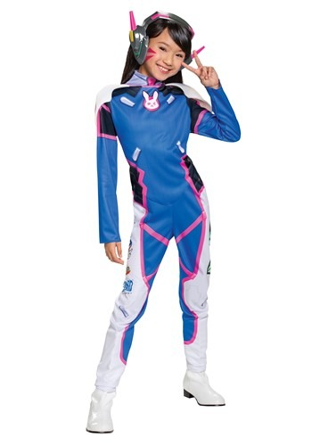 Overwatch Girls D.Va Deluxe Costume