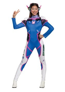 Overwatch Womens D.Va Deluxe Costume