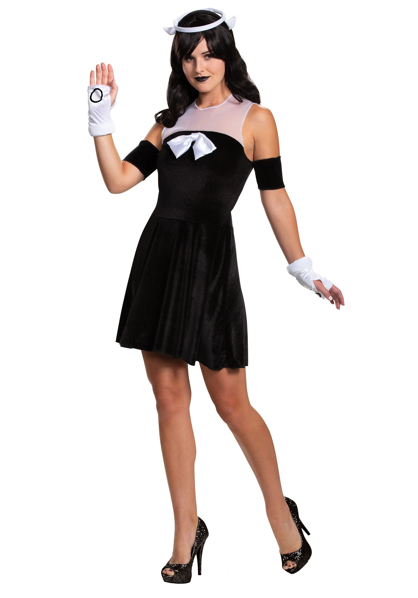 Classic Alice Costume Ink Womens And Machine The Bendy Angel LAjRc4q35