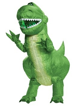 Toy Story Kids Rex Inflatable Costume