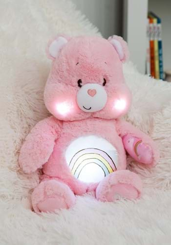 Cheer Bear Care Bears Soother Plush w/ Music and Lights