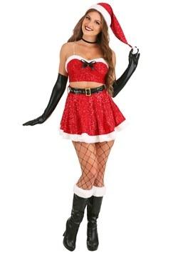 Women's Sexy Sequin Santa Costume Update