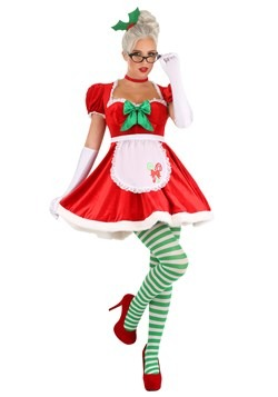 Women's Sexy Classic Mrs. Claus Costume update1 new