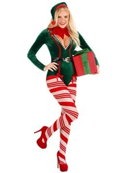 Women's Sexy Santa Elf Costume main update