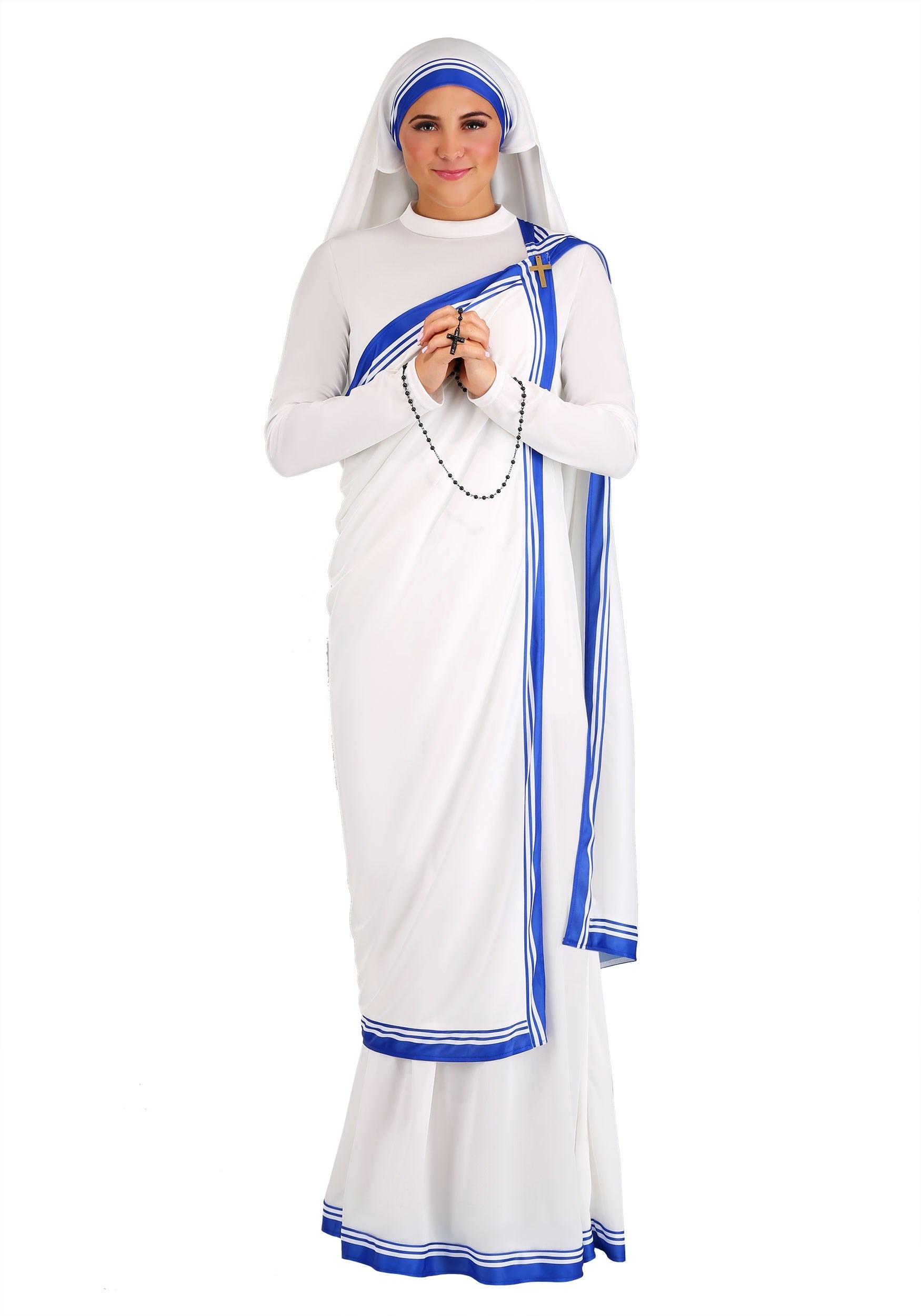 Saint Mother Teresa Crew Socks NEW