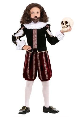 Boy's William Shakespeare Costume upd