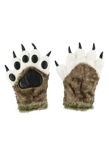 Adult Wolf Paw Mitt Glove