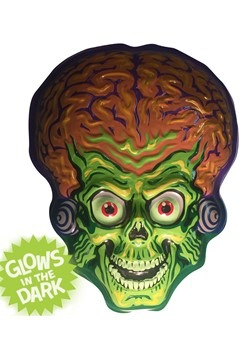 "Mars Attacks Martian Invader Vacuform Mask 23"" Wall Hanger D"