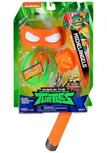 Click Here to buy Michelangelo Ninja Roleplay Set TMNT from HalloweenCostumes, CDN Funds