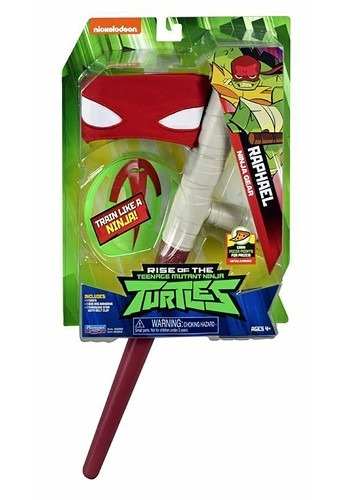 Click Here to buy Raphael Ninja Roleplay Set TMNT from HalloweenCostumes, CDN Funds