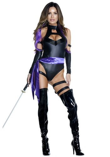 Trendy and Edgy Halloween Cosplay - WOMEN'S PSYCHIC NINJA COSTUME