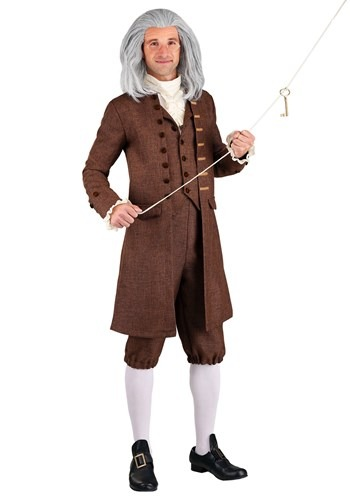 Men's Colonial Benjamin Franklin Costume