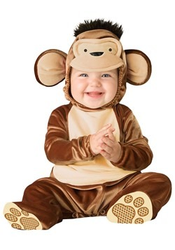 Infant Mischievous Monkey Costume