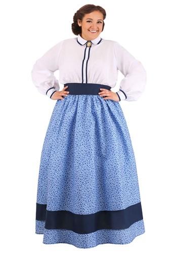 Plus Size Women's Prairie Dress Costume