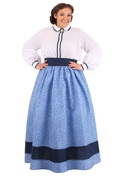 Plus Size Women's Prairie Dress Costume