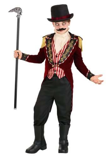 Boy's Scary Ringmaster Costume Main