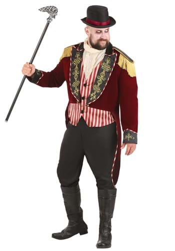 Plus Size Men's Scary Ringmaster Costume