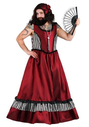 Men's Bearded Woman Costume