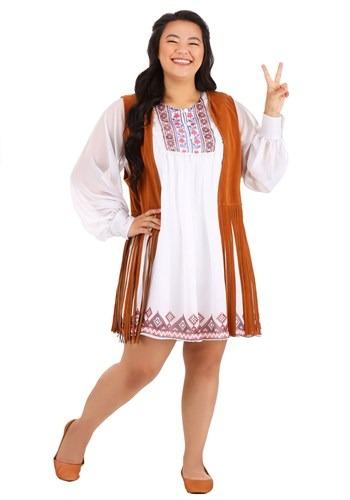 Womens Plus Size 70s Free Spirit Costume