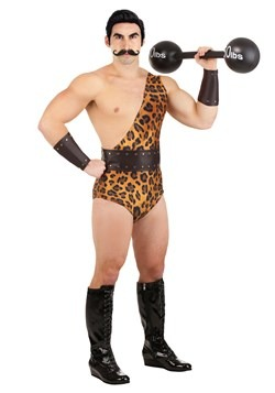 Men's Dark Strongman Costume