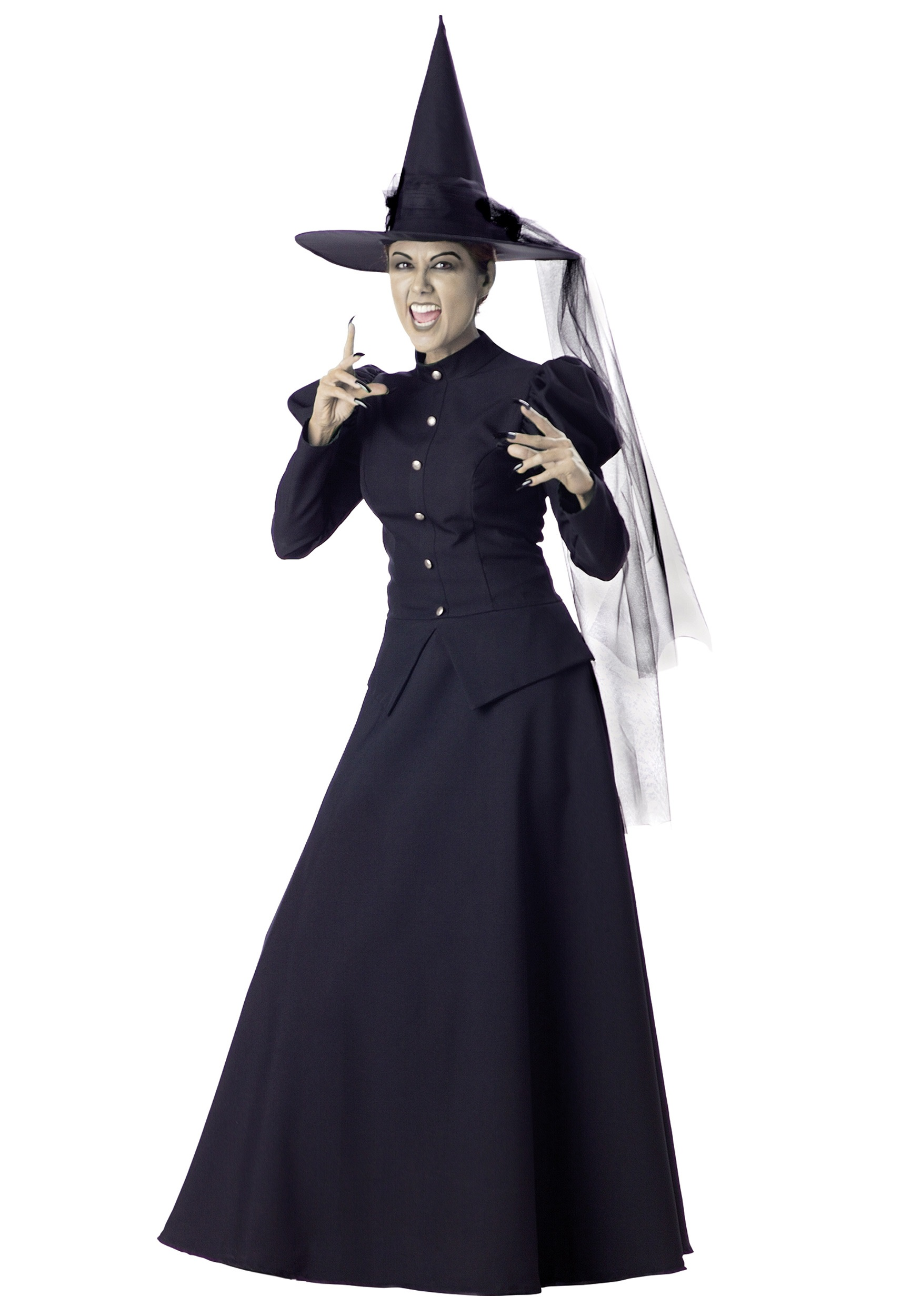 Women\'s Black Witch Costume