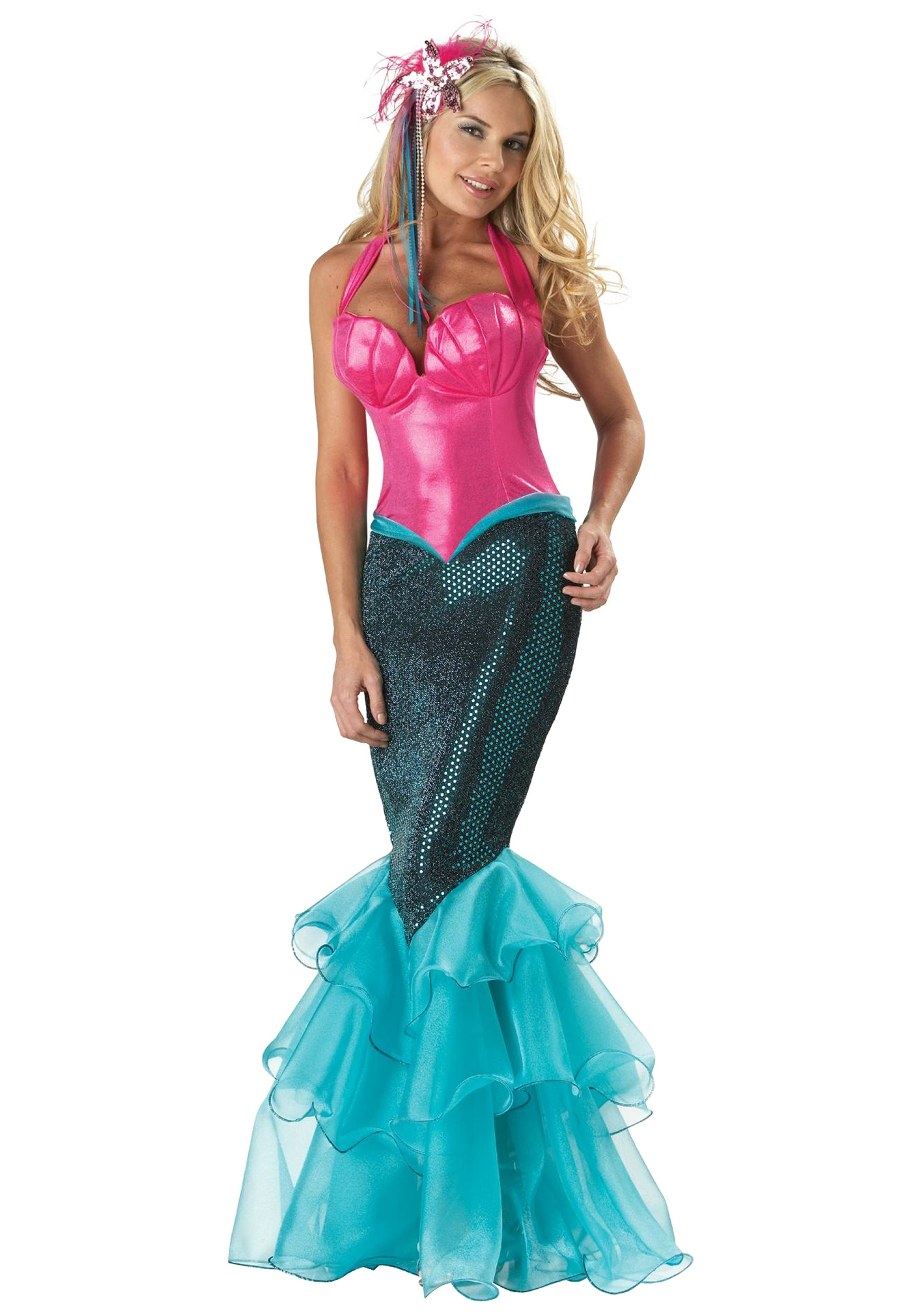 elite mermaid costume - Mermaid Halloween Costume For Kids