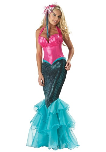 ELITE MERMAID COSTUME - Edgy Women's Halloween Costumes