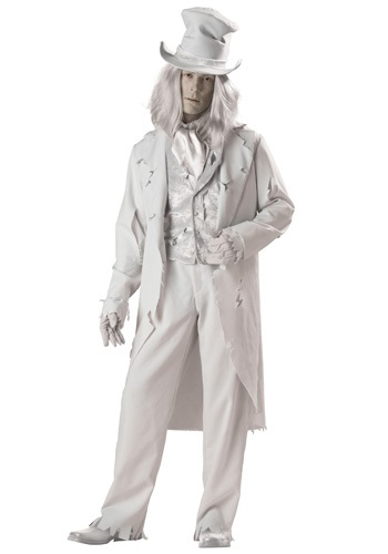 Click Here to buy Ghostly Gentleman Costume from HalloweenCostumes, USA Funds & Shipping