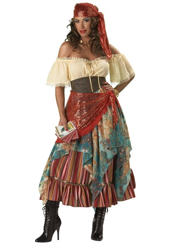 Click Here to buy Elite Fortune Teller Costume from HalloweenCostumes, USA Funds & Shipping
