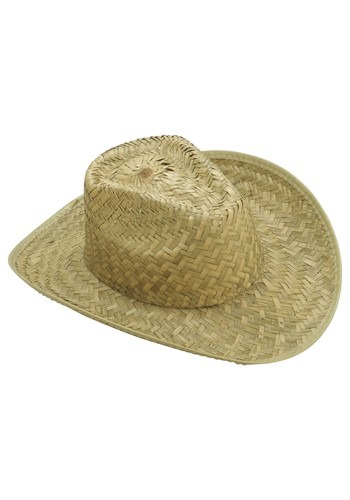 Straw Cowboy Hat Adult