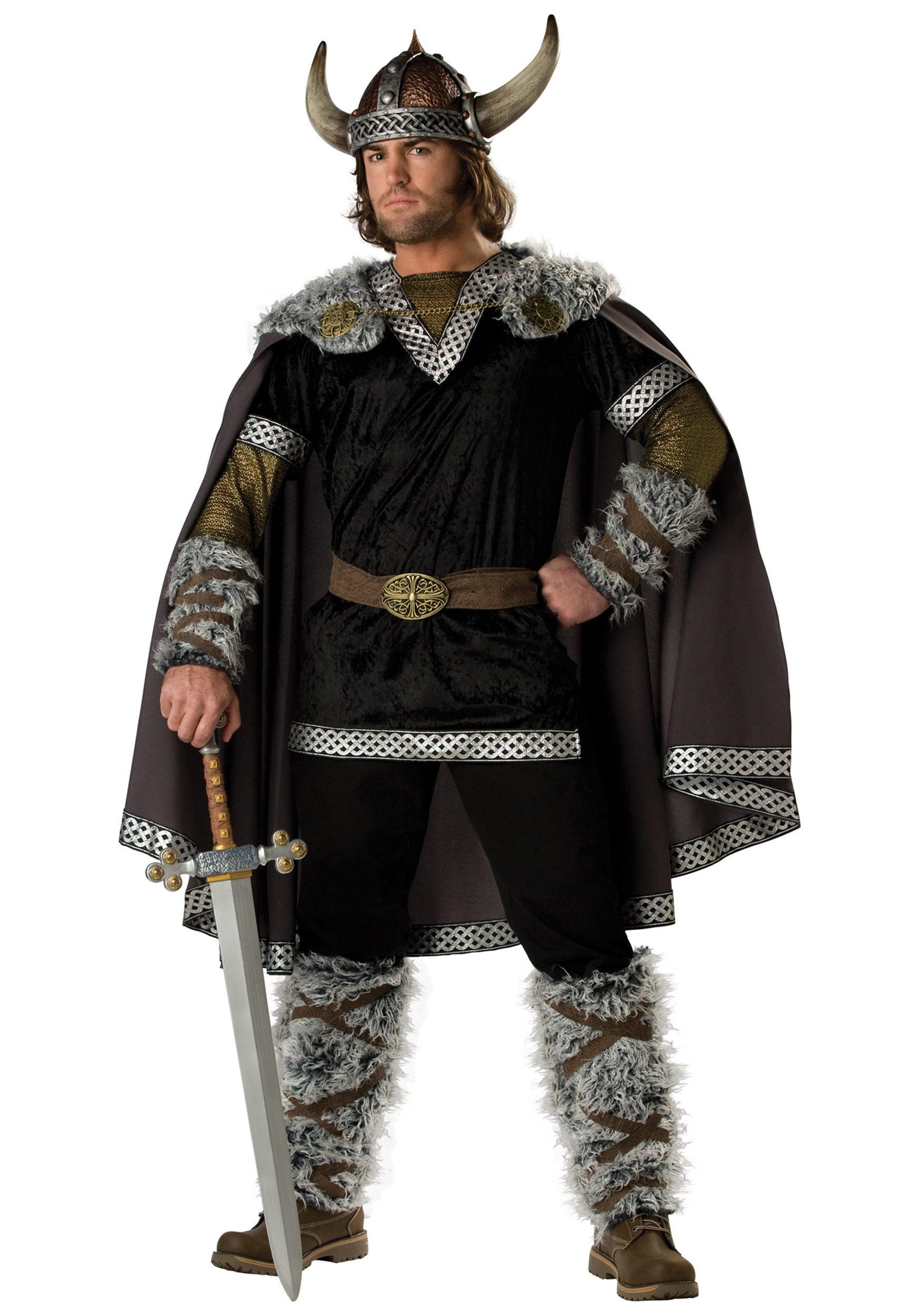 Viking Warrior Costumes & Warrior Viking Outfits HalloweenCostumes  d13a82