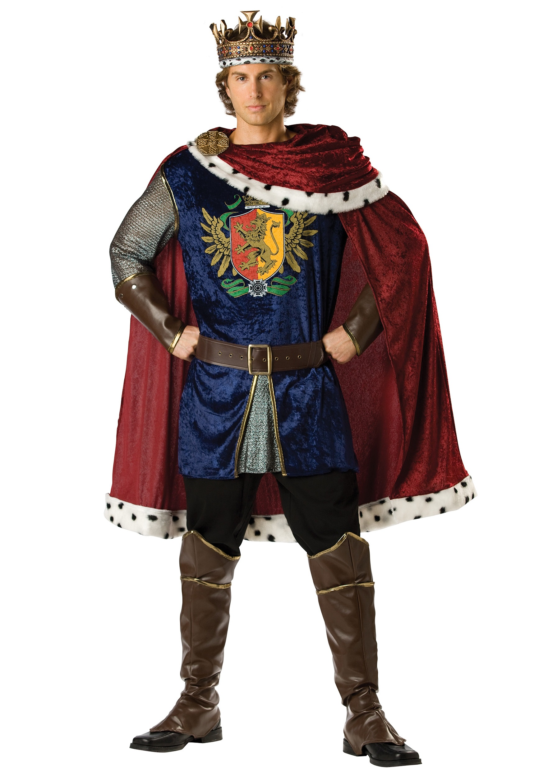 Noble King Costume  sc 1 st  Halloween Costumes & King and Queen Costumes - Royal King Halloween Costume